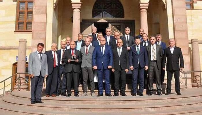 Bosna Başbakanı'ndan Kaymakam'a Ziyaret