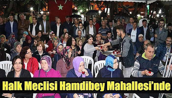 Halk Meclisi Hamdibey Mahallesi'nde toplandı
