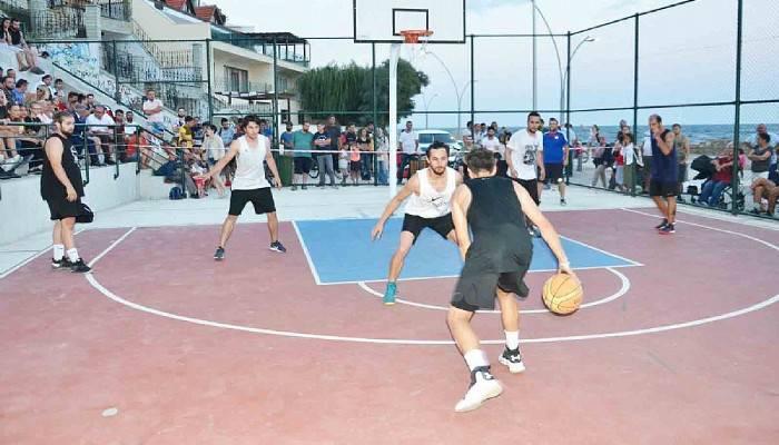 Gelibolu'da Basketbol Heyecanı