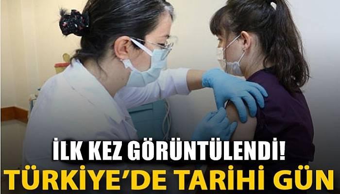 Türkiye'de tarihi gün... Koronavirüs aşısında ilk gönüllü uygulaması yapıldı (VİDEO)