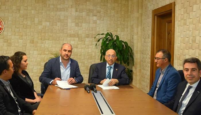 ÇOMÜ ile Dardanel Önentaş Gıda San. A.Ş. arasında İşbirliği Protokolü İmzalandı