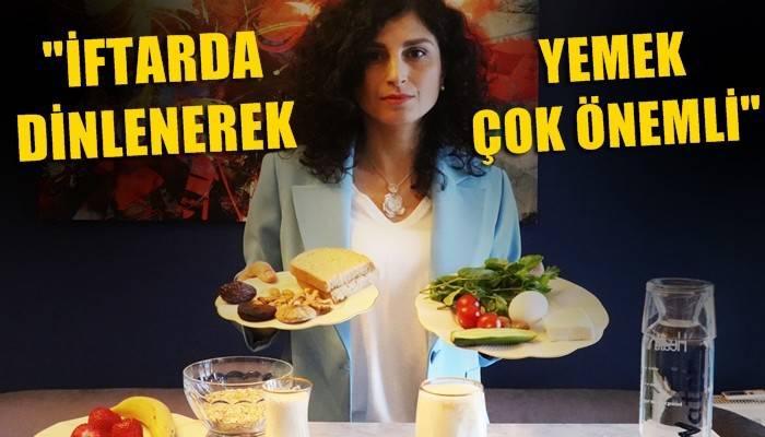 'Ramazan ayını yemek şöleni olarak düşünmemeliyiz' (VİDEO)