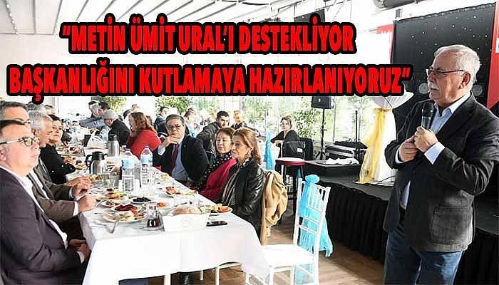 Ülgür Gökhan, desteğini açık açık ilan etti