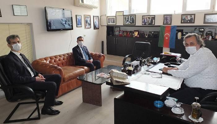 Vali Aktaş Boğaz Medyayı ziyaret etti