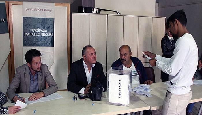Fevzipaşa Mahalle Meclisi seçimli genel kurulu yapıldı