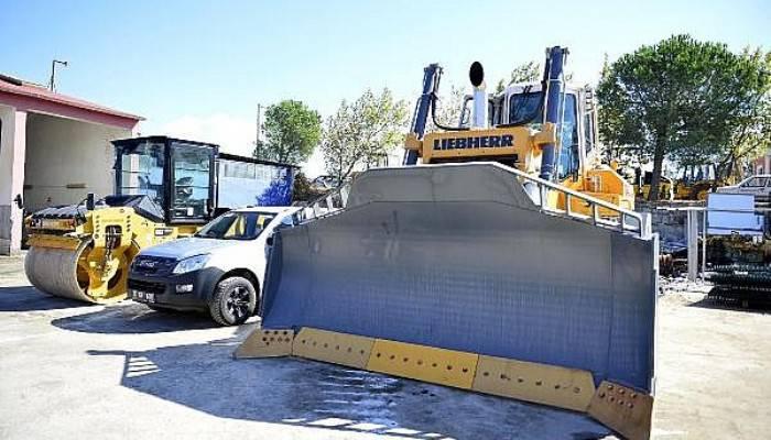 Çanakkale Belediyesi'nin yeni araçları tanıtıldı