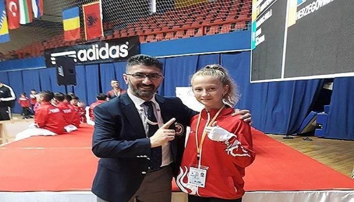 Bahar Koray Balkan Şampiyonu Oldu