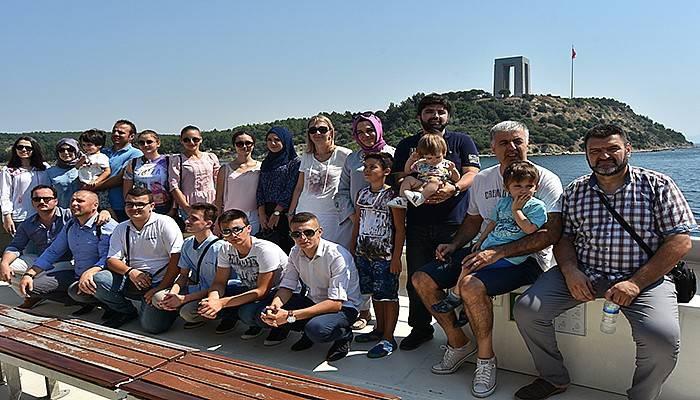 Bosna Hersek'ten Çanakkale'ye dostluk ziyareti (VİDEO)