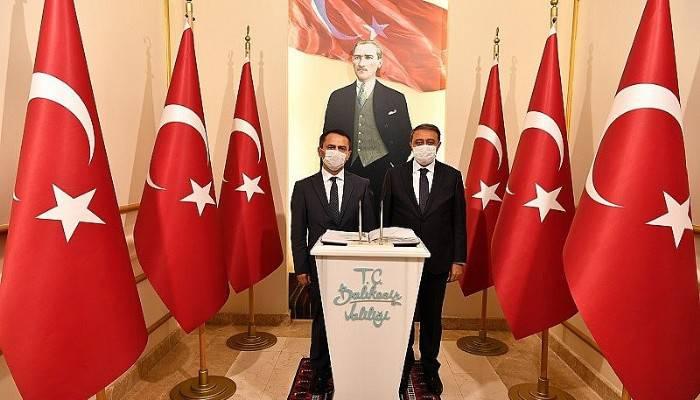 Aktaş, Balıkesir Valisi Şıldak'ı ziyaret etti