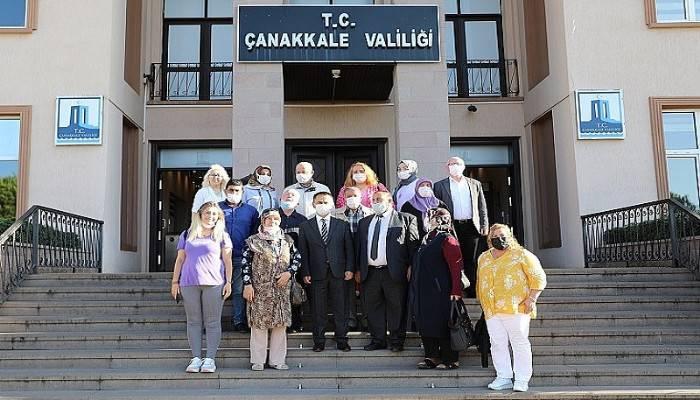 Engelli dostlarından Vali Aktaş'a ziyaret