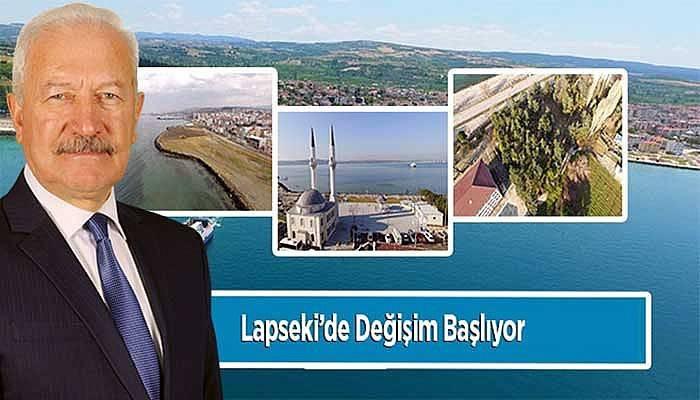 Lapseki'de değişim başlıyor!