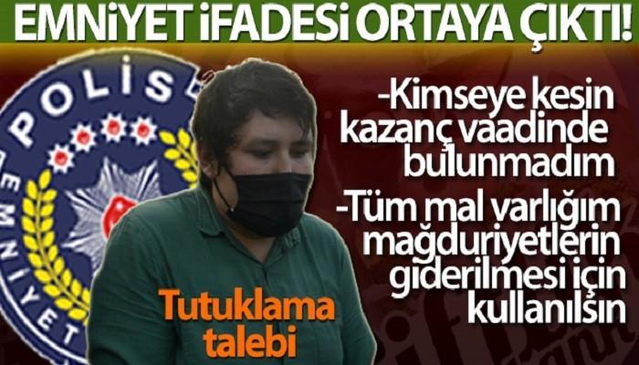 'Tosuncuk' Mehmet Aydın'ın emniyet ifadesi ortaya çıktı