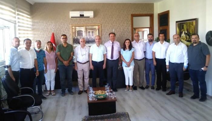 Ziraat Fakültesi dekanlık devir teslim töreni gerçekleşti