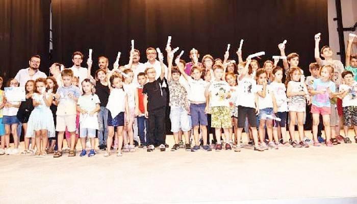 Çan Belediyesi Çocuk Ve Kültür Evi Yaz Kurslarında 60 Öğrenci Mezun Oldu