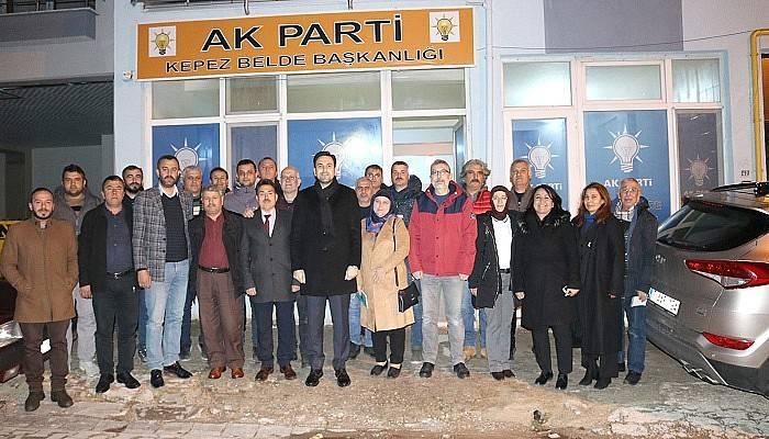 Kepez AK Parti Teşkilatı toplandı