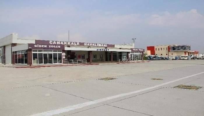 Çanakkale havalimanı mayıs ayı istatistikleri açıklandı