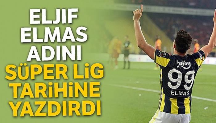 Elmas, Cenk Tosun'un ardından adını Süper Lig tarihine yazdırdı