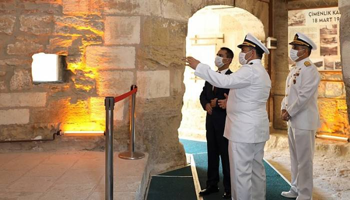 Vali İlhami Aktaş, Kale-i Sultaniye'yi Ziyaret Etti
