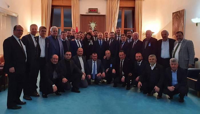 """""""Ak Parti teşkilatlarının 18 yıllık tarihi bir onur tarihidir"""""""
