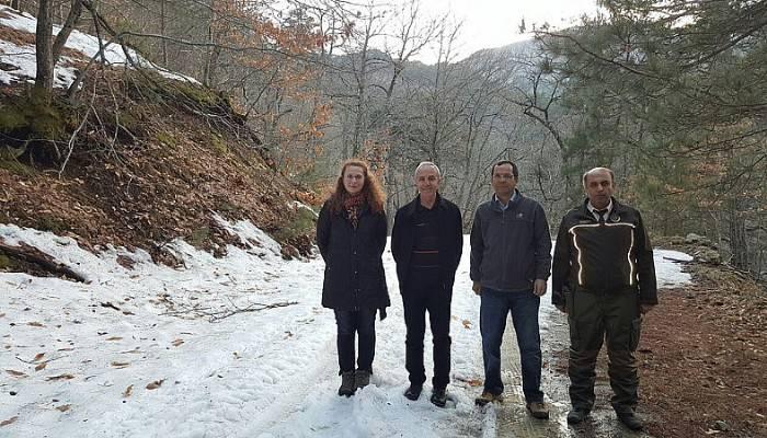 Ulusoy'dan Bayramiç ziyareti