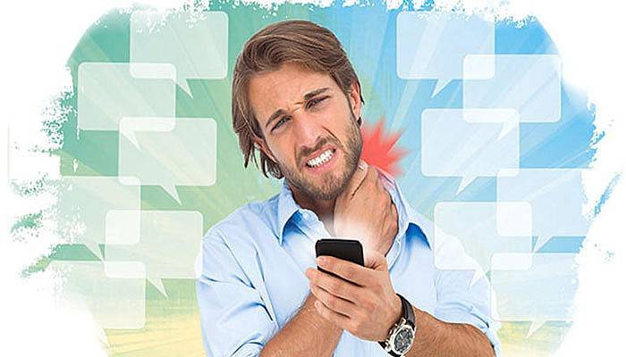 Boyun Ağrınızın Nedeni Akıllı Telefon Olabilir
