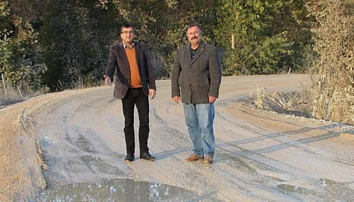 CHP Milletvekili Öz yol sorununu inceledi