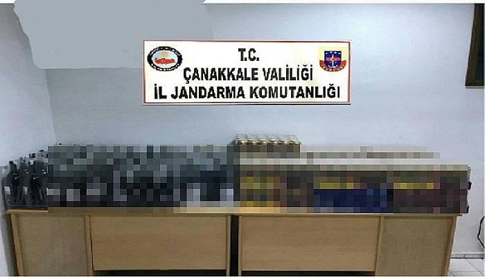 Çanakkale'de kaçak içki satışına 13 bin 10 TL para cezası