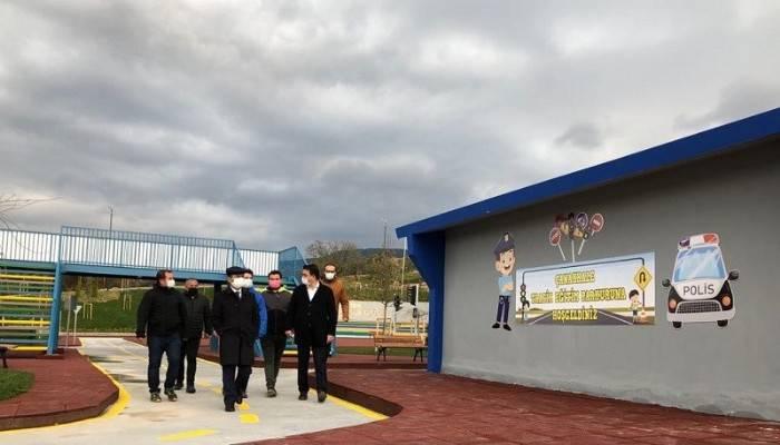 Trafik Eğitim Parkı Tamamlandı
