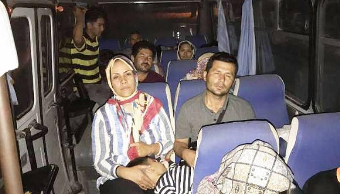 Çanakkale'de 52 Kaçak Göçmen Yakalandı