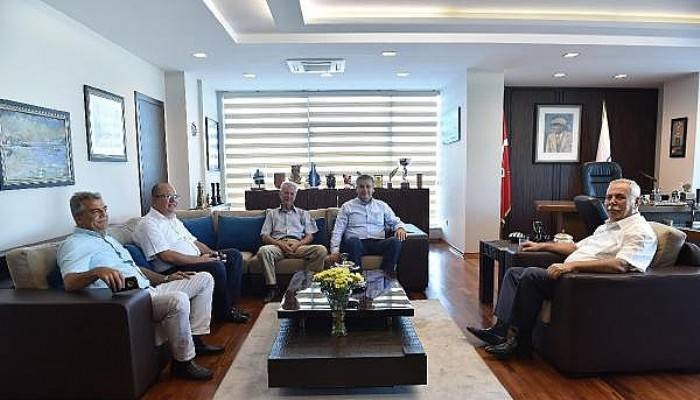 İl Genel Meclis üyelerinden Başkan Gökhan'a ziyaret