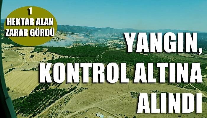 YANGIN KONTROL ALTINA ALINDI
