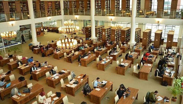 ÇOMÜ Kütüphanesi İlk 3'te