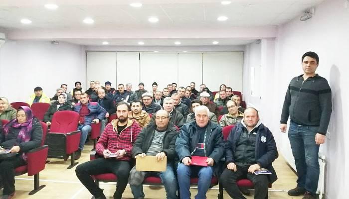 """""""SÜRÜ YÖNETİMİ ELEMANI"""" KURSUNA ZİYARET"""