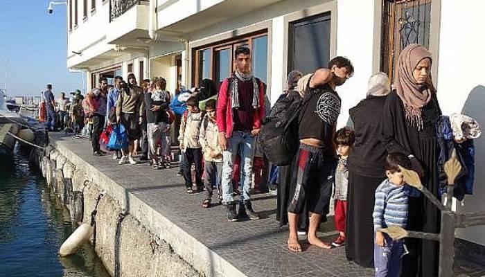 Çanakkale'de 41 kaçak göçmen yakalandı (VİDEO)