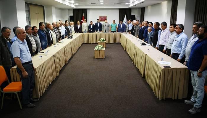 Hizmet Götürme Birliği Eylül ayı olağan meclis toplantısı yapıldı.