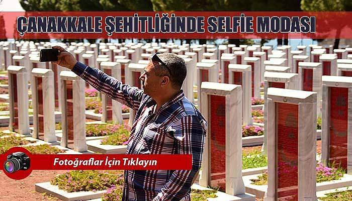 Tarihi alanda önce dua, sonra selfie...