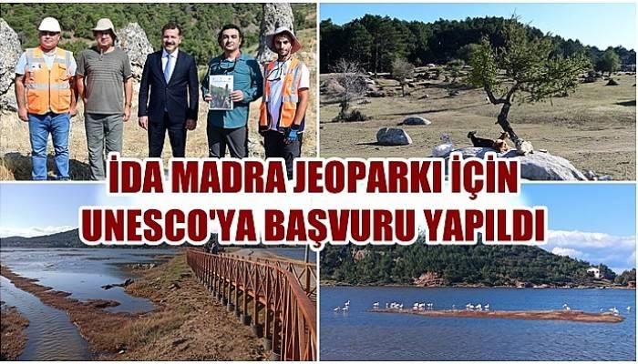 İda Madra Jeoparkı için UNESCO'ya başvuru yapıldı