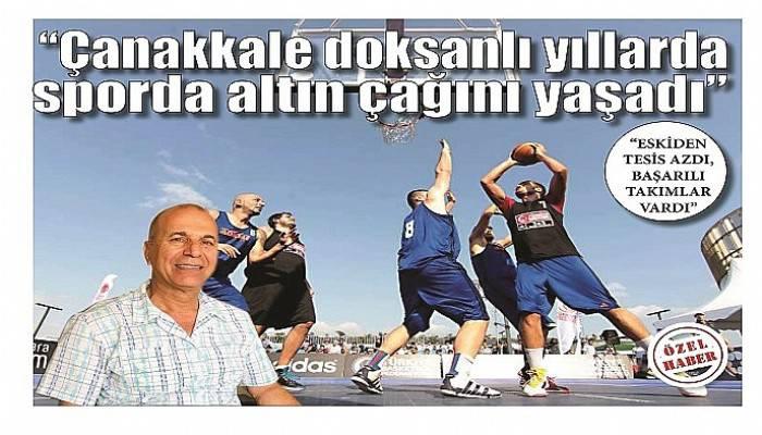 """""""ESKİDEN TESİS AZDI, BAŞARILI TAKIMLAR VARDI"""""""