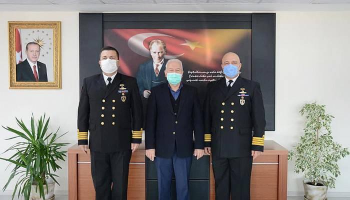 Albaylardan Başkan Yılmaz'a ziyaret