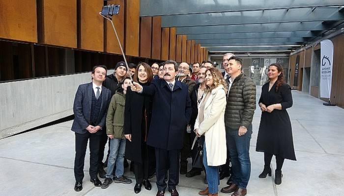 Troya Müzesi'ne 'Müzede Selfie Günü' akını (VİDEO)