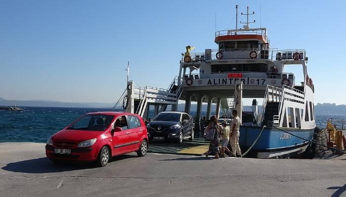 Çanakkale'de beklenen feribot kuyruğu oluşmadı (VİDEO)