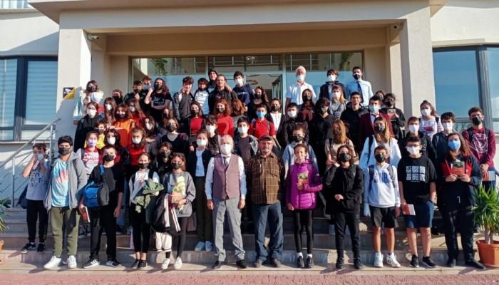 Aydın'dan Açı Koleji'nde matematik söyleşisi