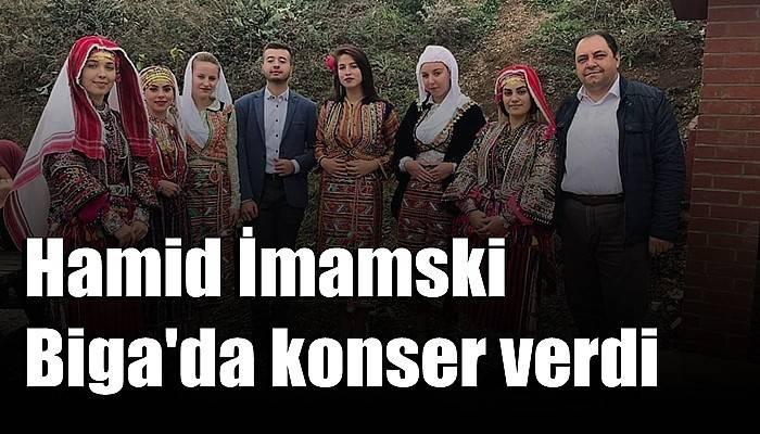 Hamid İmamski Biga'da konser verdi