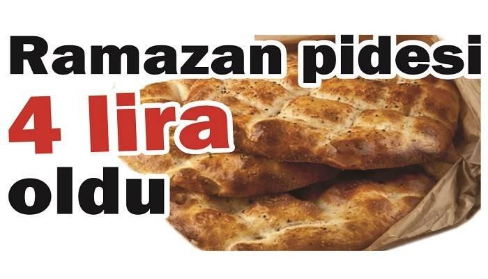 Ramazan pidesi 4 lira oldu