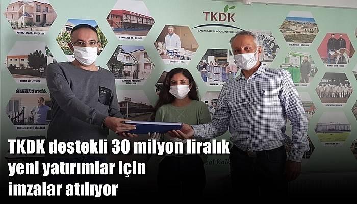 TKDK destekli 30 milyon liralık yeni yatırımlar için imzalar atılıyor