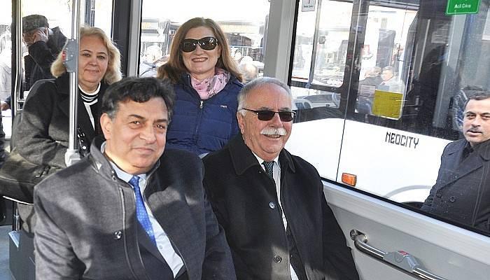 10 yeni otobüs hizmete başladı