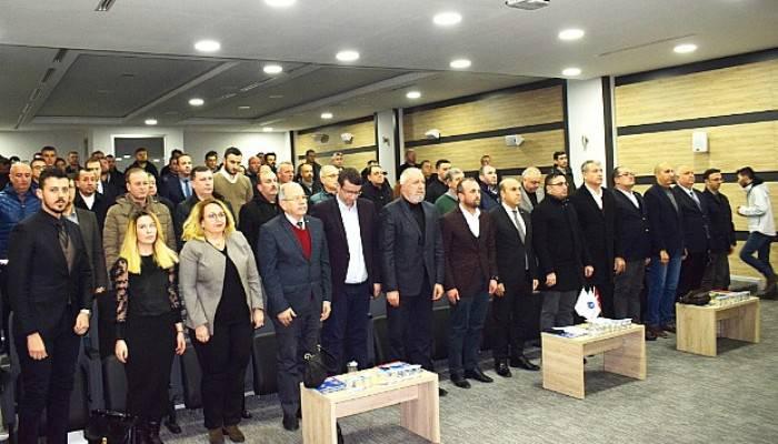 BİGA'DA STP TOPLANTISI YAPILDI