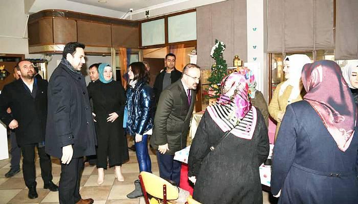 TURAN BİGA'DA MUHTARLARLA BİR ARAYA GELDİ