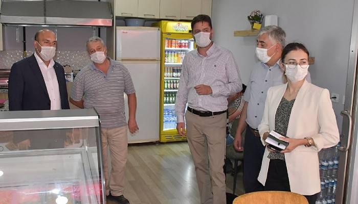 Biga'da Koronavirüs Denetimleri Gerçekleştirildi