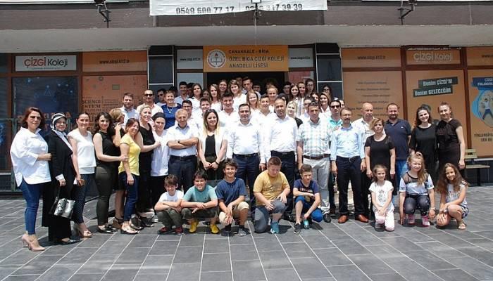 Çizgi Kolejinde 'Hobi Bahçesi' Açıldı